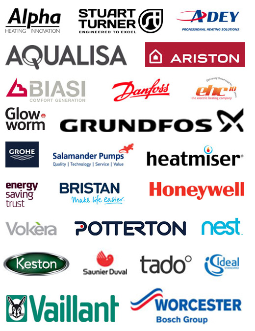 Boiler brands that we work with